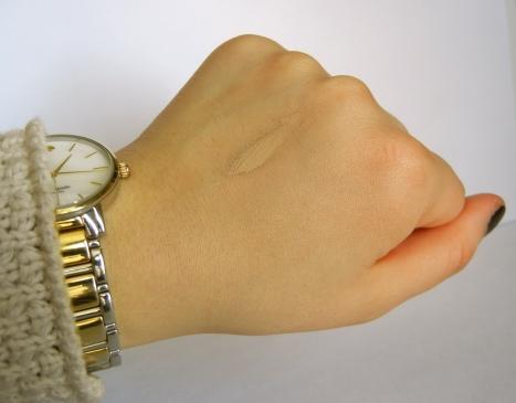dr Jart water fuse bb cream swatch