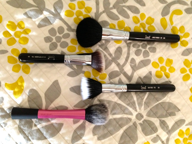 fave face brushes 1