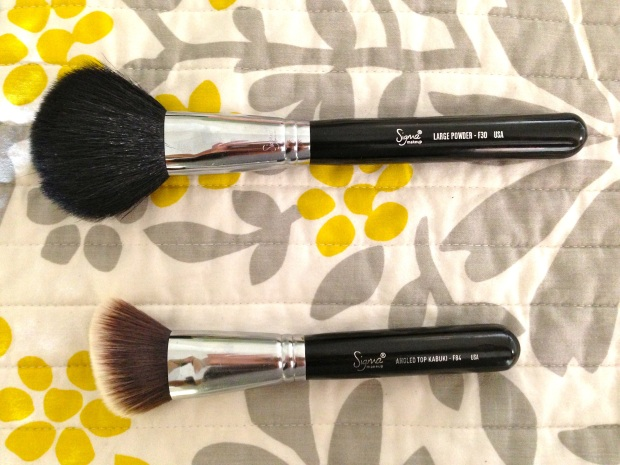 fave face brushes 2