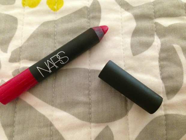 NARS velvet matte lip pencil dragon girl 1